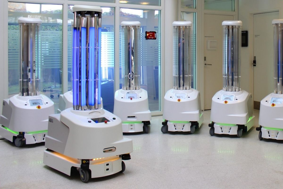 robotics to aid the cleaning industry
