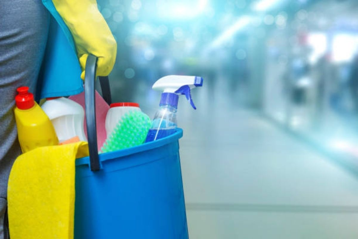 cleaning to prevent the spread of covid
